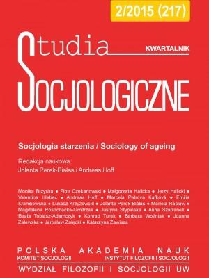 Studia Socjologiczne_2015_nr2_okladka