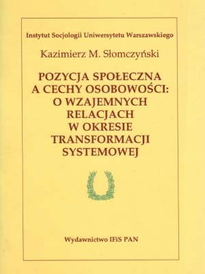 Slomczynski, pozycja spoleczna