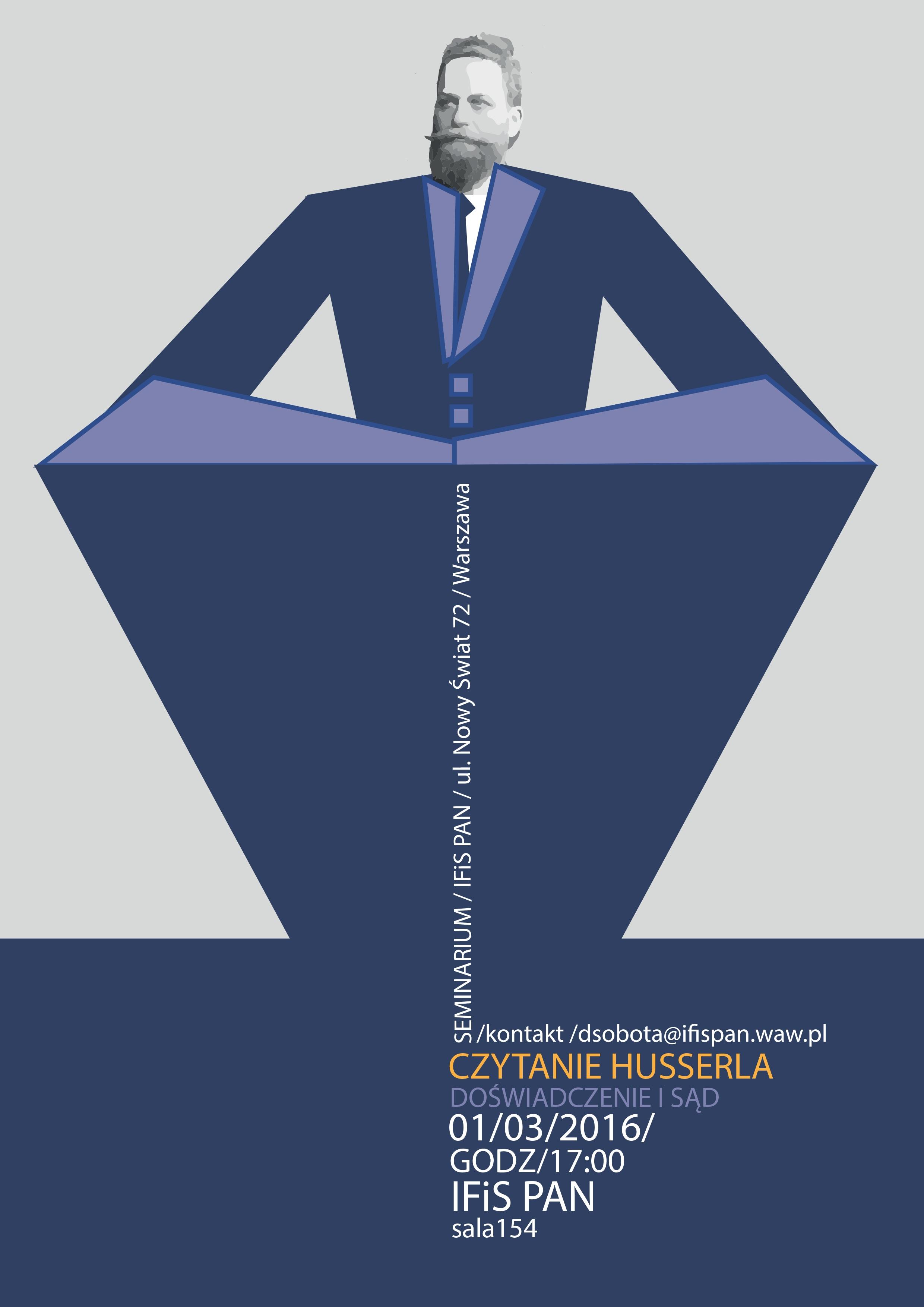 plakat_seminarium czytanie Husserla