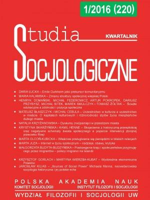 Studia_Socjologiczne_2016_Nr1_okladka