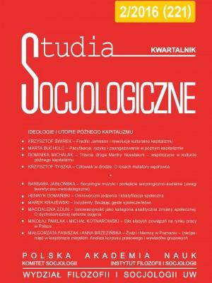 Studia_Socjologiczne_2016_Nr2_okladka