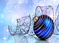 246509_boze_narodzenie_dekoracje_niebieska_bombka_wstazka