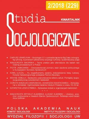 Studia_Socjologiczne_2018_nr2_okladka