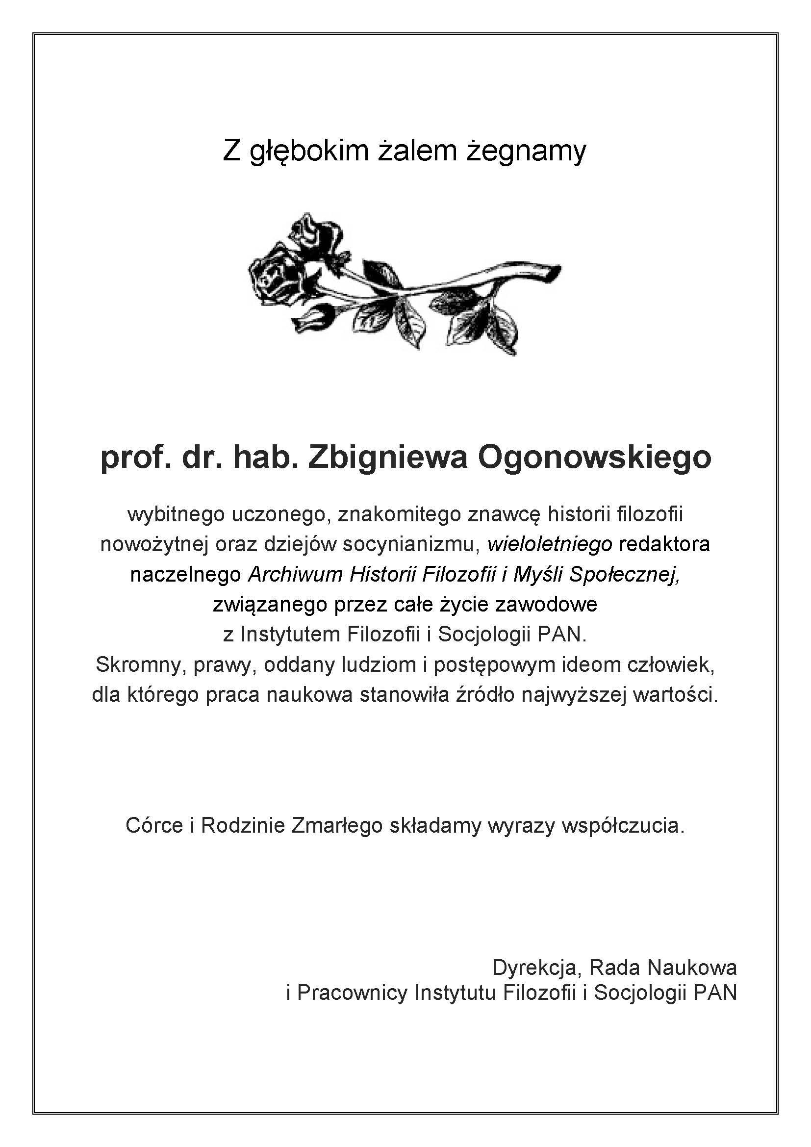 Ogonowski