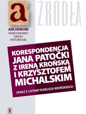 Patocka_korespondencja_okladka